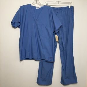 Blue Doctors Scrubs Costume